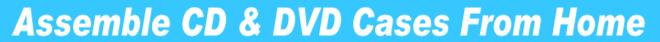 Assemble CD DVD Cases Banner